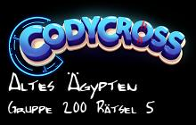 Altes Ägypten Gruppe 200 Rätsel 5 lösungen