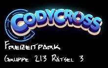 Freizeitpark Gruppe 213 Rätsel 3 lösungen