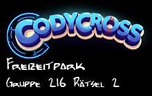 Freizeitpark Gruppe 216 Rätsel 2 lösungen