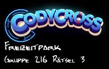 Freizeitpark Gruppe 216 Rätsel 3 lösungen