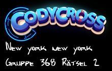 New york new york Gruppe 368 Rätsel 2 Lösungen